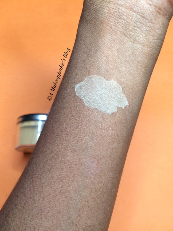 Swatch of Sacha Buttercup Powder